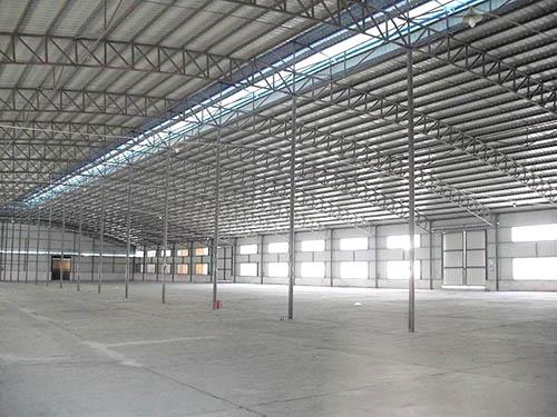 单层钢结构厂房